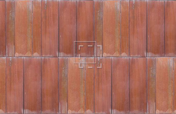 Corten Steel Texture Immediate Entourage