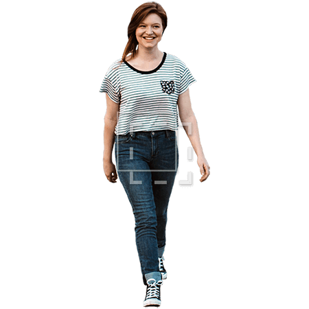 IE-girl-in-a-striped-shirt