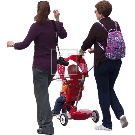 IE-women-with-stroller