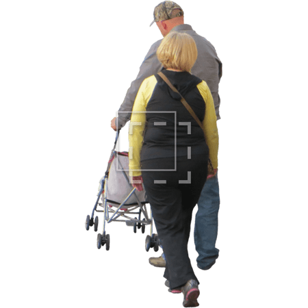 IE-man-and-woman-with-a-baby-stroller