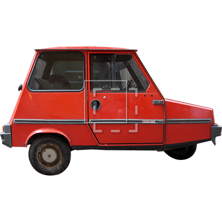ie-red-three-wheeled-car