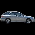 Silver Hatchback