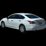 White Nissan