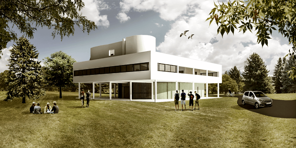 Architecture People finished-render