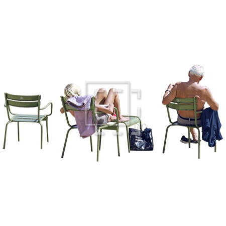Retired People Reclining