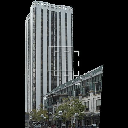 White Vertical Building - Immediate Entourage