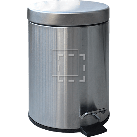 stainless trash can parent category cutouts